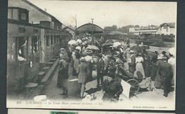 N° 161    - Lourdes  -   Le Train Blanc Rentrant En Gare   -  Maca2548 - Lourdes