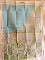 Carte 1 /50 000° IGN- BAYONNE édit .1958 + ESPELETTE édit.1952 - Topographical Maps