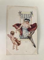 Carte Postale Ancienne 2633  Erotic  Pinx Hérouard   Ne Dormez Plus ! Don't Sleep - Otros Ilustradores