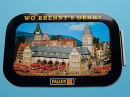 "WO BRENNT'S DENN ? "" FALLER "" ( Zie Foto Voor Détail ) Zelfklever Sticker Autocollant ! - Non Classificati"