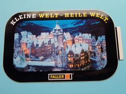 "KLEINE WELT - HEILE WELT. "" FALLER "" ( Zie Foto Voor Détail ) Zelfklever Sticker Autocollant ! - Non Classificati"
