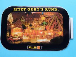 "JETZT GEHT'S RUND. "" FALLER "" ( Zie Foto Voor Détail ) Zelfklever Sticker Autocollant ! - Non Classificati"