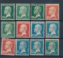 FRANCE - PASTEUR N° 170/81 NEUFS* AVEC CHARNIERE - 1923/26 - 1922-26 Pasteur