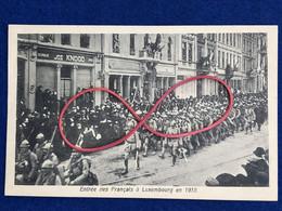 Luxembourg - Entrée Des Français à Luxembourg En 1918 - Lussemburgo - Città