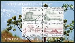 GREENLAND 1999 Arctic Vikings I Block Used.  Michel Block 17 - Gebraucht