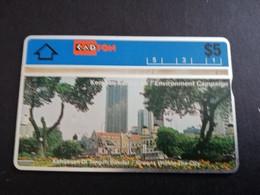 MALAYSIA Nice Used  KADFON   L&G CARDS   $ 5 ,-  SERIE 307F      ** 5492*** - Maleisië