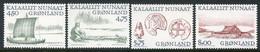 GREENLAND 1999 Arctic Vikings I  MNH / **.  Michel 339-42 - Ungebraucht