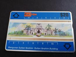 MALAYSIA Nice Used  KADFON   L&G CARDS   $ 20 ,-  SERIE 210A      ** 5493*** - Maleisië