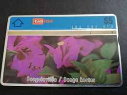 MALAYSIA Nice Used  KADFON   L&G CARDS   $ 5 ,-  SERIE 107F      ** 5494*** - Maleisië