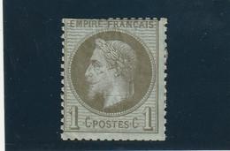 ///    FRANCE  ///     Napoléon III - Lauré N° 25 Côte 25€ Bronze Ou Olive  Charniere Côte 90€ - 1863-1870 Napoleon III With Laurels
