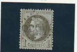 ///    FRANCE  ///   Napoléon III - Lauré N° 25 Côte 25€ Bronze Oblitération BLASIMON Gironde (côte37.5) Bon Centrage - 1863-1870 Napoleon III With Laurels