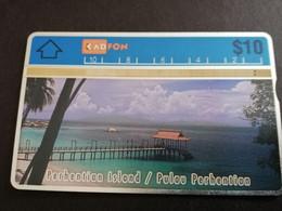 MALAYSIA Nice Used  KADFON   L&G CARDS   $ 10 ,-  SERIE 108B     ** 5497*** - Maleisië