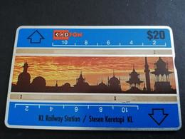 MALAYSIA Nice Used  KADFON   L&G CARDS   $ 20 ,-  SERIE 106B   ** 5499*** - Maleisië