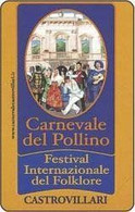 USATE › Carnevale Del Pollino - Pubbliche Figurate Ordinarie
