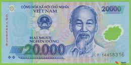 Voyo VIETNAM 20000 Dong 2014 P120f B344f CP UNC Polimer - Vietnam