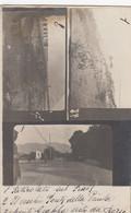PONTE DELLA PRIULA-TREVISO-CARTOLINA COLLAGE(TRE IMMAGINI) -CARTOLINA VERA FOTOGRAFIA-NON VIAGGIATA 1915-1920 - Treviso