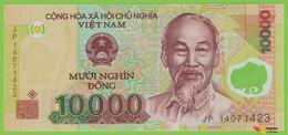 Voyo VIETNAM 10000 Dong 2014 P119h B343h JP UNC - Vietnam