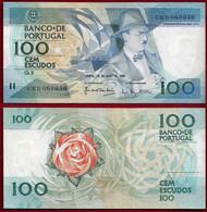 Portugal 100 Escudos 1988 Pick 179e Unc (NT#01) - Portogallo
