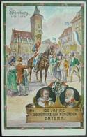 Bessere Bayern Privatganzsache PP38 C22-02 Gelaufen Mit Bahnpoststempel (983) - Stamped Stationery