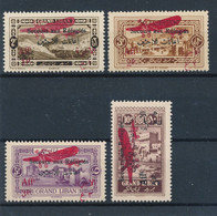 GRAND LIBAN - POSTE AERIENNE N° 17/20 NEUFS** SANS CHARNIERE - 1926 - Luchtpost