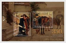 Bosnia And Herzegovina (Mostar).2021.Joint Issue.350th Anniversary Of The Death  Zrinski And   Frankopan.s/s ** . - Gemeinschaftsausgaben
