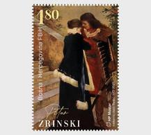 Bosnia And Herzegovina (Mostar).2021.Joint Issue.350th Anniversary Of The Death  Zrinski And   Frankopan.2 V. ** . - Gemeinschaftsausgaben