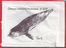 NL.- WNF. GEWONE ZEEHOND, NEDERLAND. Piers '79. Suiker. Sucre. Sugar. Zucker. Zucchero - Azúcar