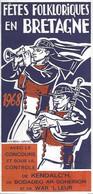 Dépliant Bretagne  ILL. Micheau-Vernez 1968 - Ohne Zuordnung