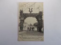 AUXERRE Concours Musical Du 5 Aout 1906 Arc De Triomphe  A La Porte De Paris - Auxerre
