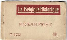 Rochefort Cartes Vues Carnet 10 Cartes  La Belgique Historique - Rochefort