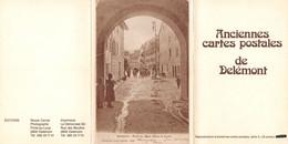 Reprocuction 16 Anciennes Cartes Postales De Delémont - Complet - JU Jura