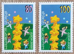 Géorgie - YT N°252, 253 - EUROPA - 2000 - Neuf - Georgia