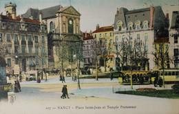 NANCY Place Saint-Jean Et Temple Protestant - Nancy