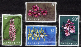 Jamaica 1973 Mi 375-378 Orchids 1973 - MNH - Jamaica (1962-...)