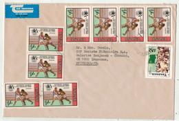 Tanzanie // Lettre Pour Lausanne (Suisse) (grand Format) - Tanzania (1964-...)