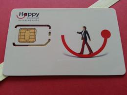 THAILAND SIM GSM Happy DTAC Smile 7 - With Numbers USIM RARE Used (BH1219b5 - Thaïlande