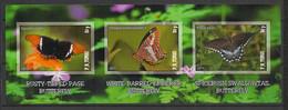 P.R. Tongo - 2011 - Bloc - Papillons / Butterflies - Neuf Luxe ** / MNH / Postfrisch - Schmetterlinge