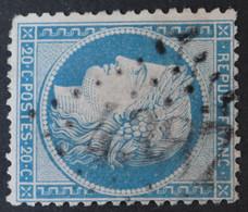 37 (cote 15 €) Obl BUREAU SUPPLEMENTAIRE GC 4387 Neuvy-sur-barangeon (17 Cher ) Ind 12 - 1849-1876: Classic Period