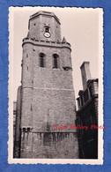 Photo Ancienne Snapshot - Ville à Situer - Environs De BERCK Sur MER ? - Beffroi Architecture Histoire Patrimoine - Places
