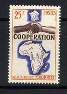 DAHOMEY - 213** - COOPÉRATION AVEC LA FRANCE - Bénin – Dahomey (1960-...)