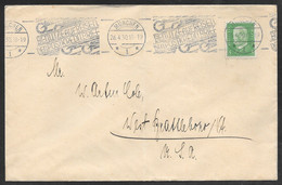 Germany - 1930 Commercial Cover - Munchen To USA - Slogan Postmark - Covers & Documents