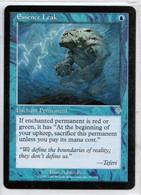 "MAGIC The GATHERING  ""Essence Leak""---INVASION (MTG-81-9) - Unclassified"