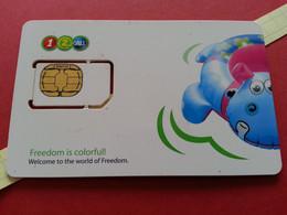 THAILAND SIM GSM 12Call Bouée - With Numbers USIM RARE Used (BH1219b5 - Thaïlande