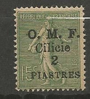 CILICIE N° 93 NEUF*  Trace De CHARNIERE  / MH - Neufs