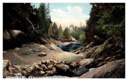 New York  Natural Stone Bridge Near Pottersville - Adirondack