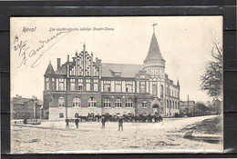 EESTI 1903 Reval Weltall-Mitglied F. Andrekson Reval Many Cars With Horses Rewel (Ревель  (r4-18) - Estonia
