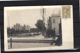 Баку Мардакьяна Садовая  улица  RARE SHARP PRIVATE PHOTO CARD 1934 (minor Damage At Top) (r4-41) - Azerbaïjan