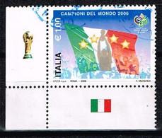 ITALIE / Oblitérés / Used / 2006 - Vainqueur Coupe Du Monde De Football - 2001-10: Usati