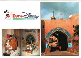 CPM 77 (Seine-et-Marne) Serris - EURODISNEY Disneyland Paris. Adventureland, Multivues TBE Au Val D'Europe - Disneyland