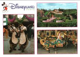 CPM 77 (Seine-et-Marne) Serris - EURODISNEY Disneyland Paris. Fantasyland, Multivues TBE Au Val D'Europe - Disneyland